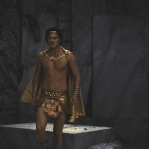 Luke Evans golden bulge