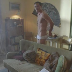 Luke Evans undressing scene