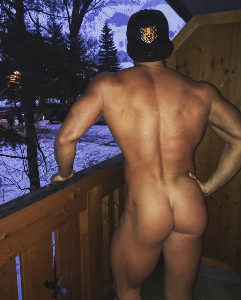 Rogan O'connor bare ass