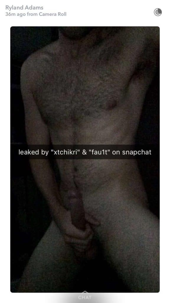 Ryland Adams nude dick pic