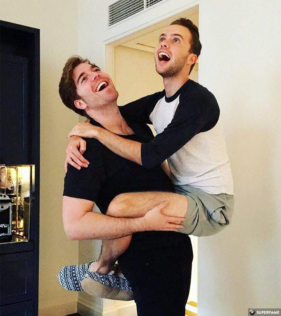 Shane holding Ryland