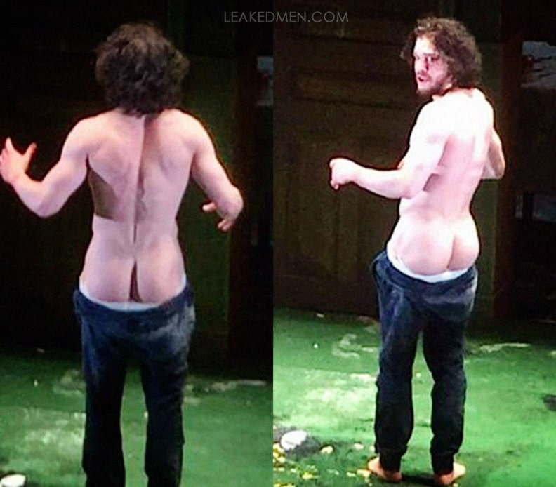 Kit Harrington butt theatre