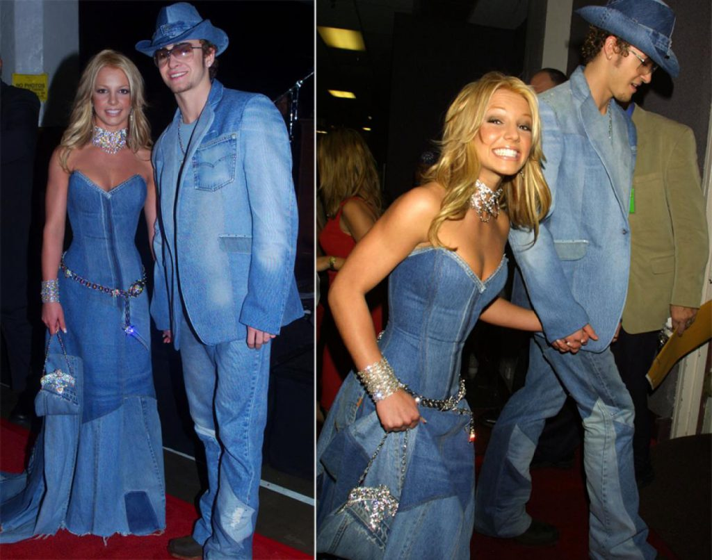 Britney Spears and Justin Timberlake All Denim