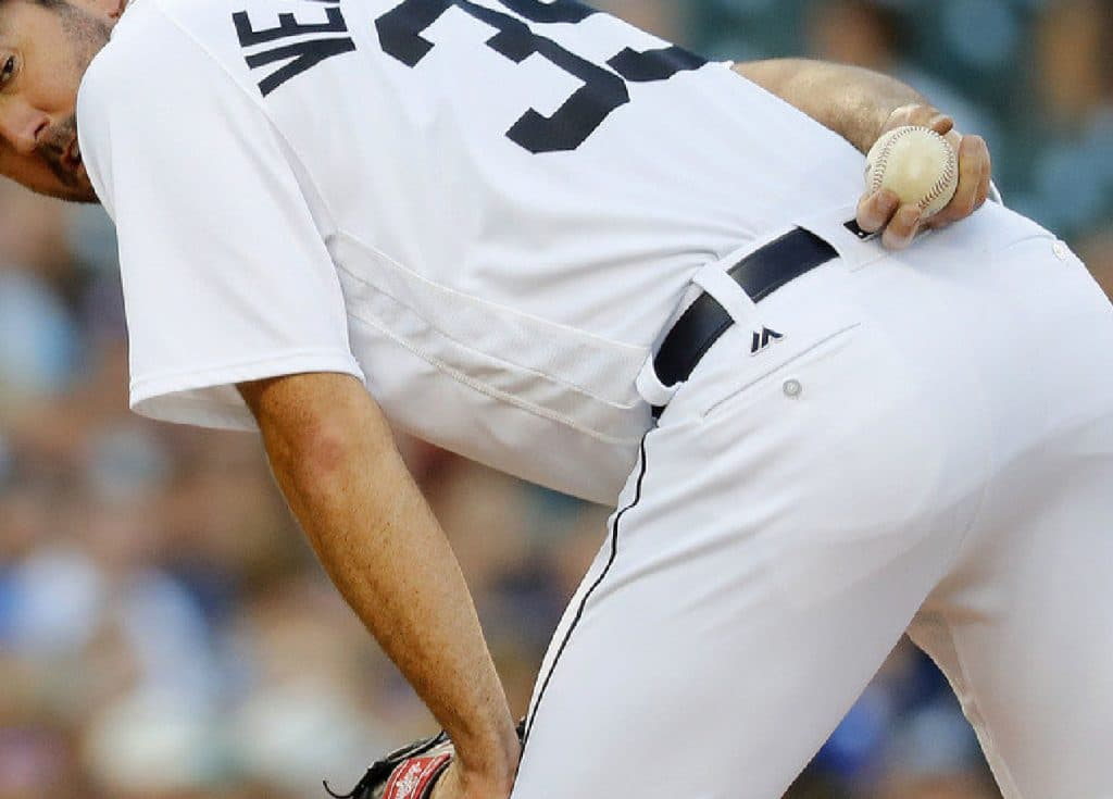 Justin Verlander close up butt