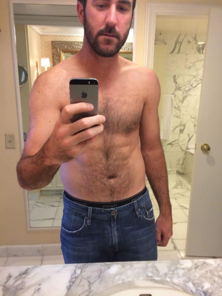 Justin Verlander shirtless selfie fappening