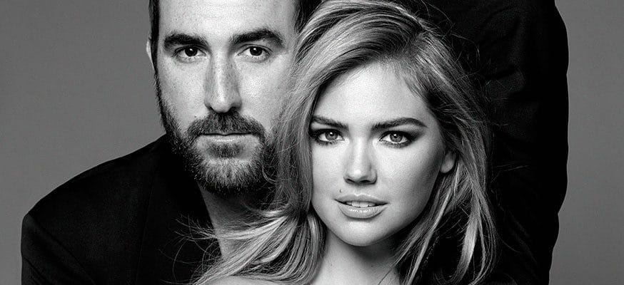 Justin Verlander & Kate Upton professional photo shoot