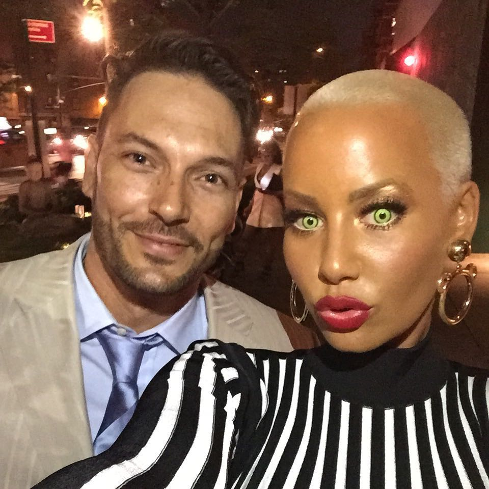 Kevin Federline and Amber Rose