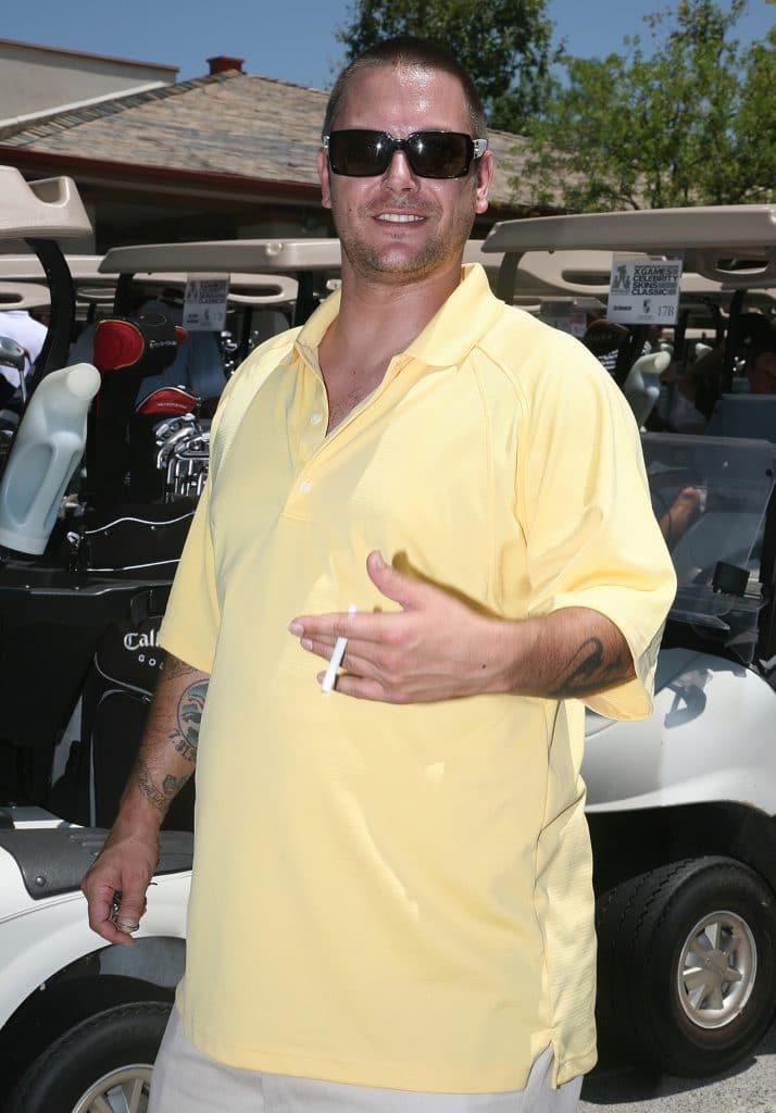 Kevin Federline weight gain golfing
