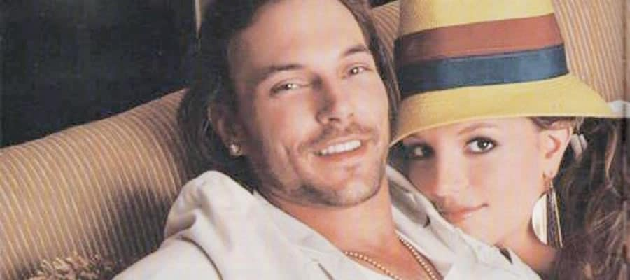 Kevin Federline and Britney in love