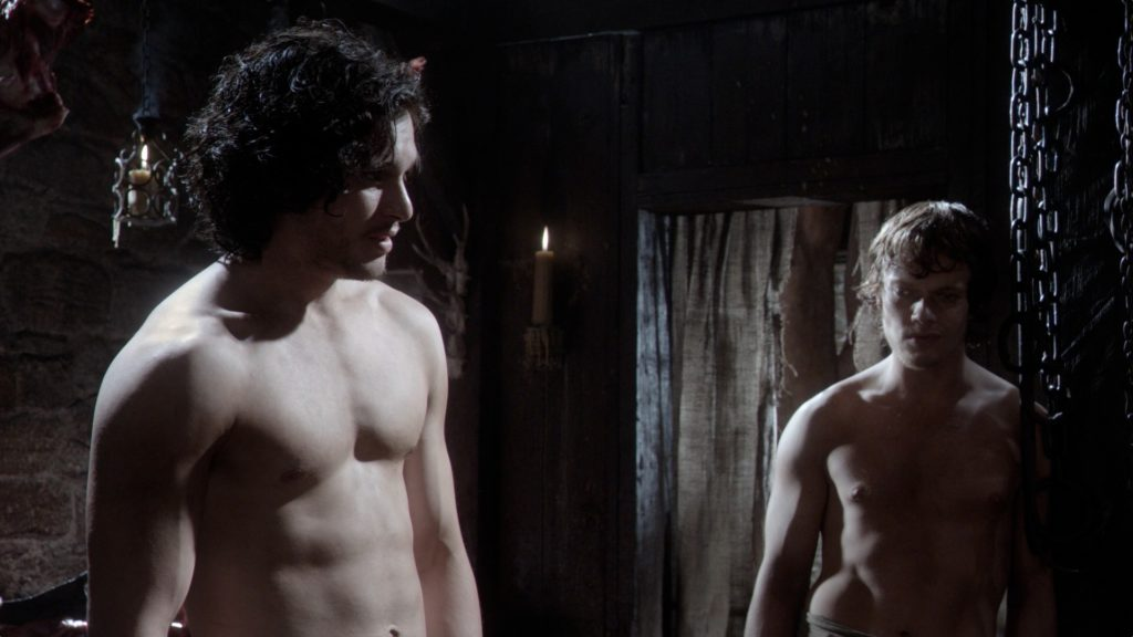 Kit Harington shirtless pic