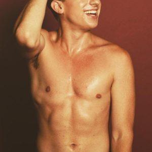 Charlie Puth shirtless pic