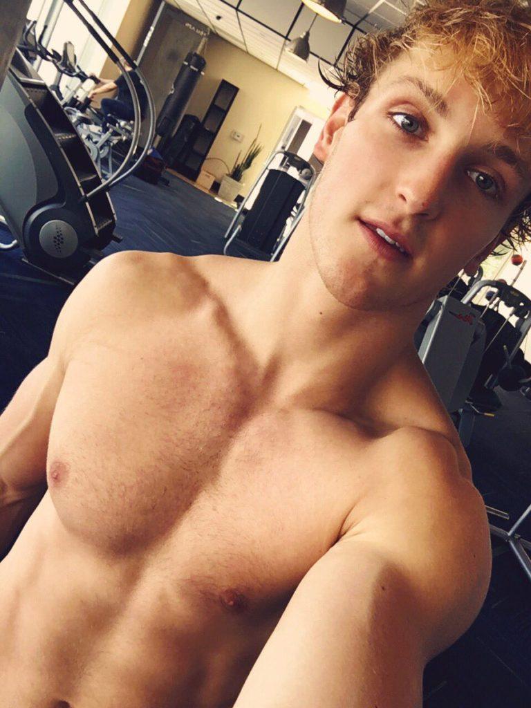 Logan Paul selfie