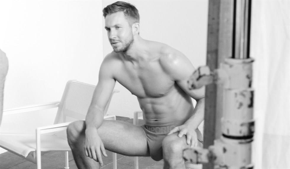 Calvin Harris big bulge