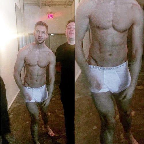 Calvin Harris hot body