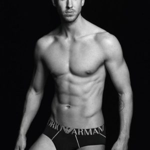 Calvin Harris naked