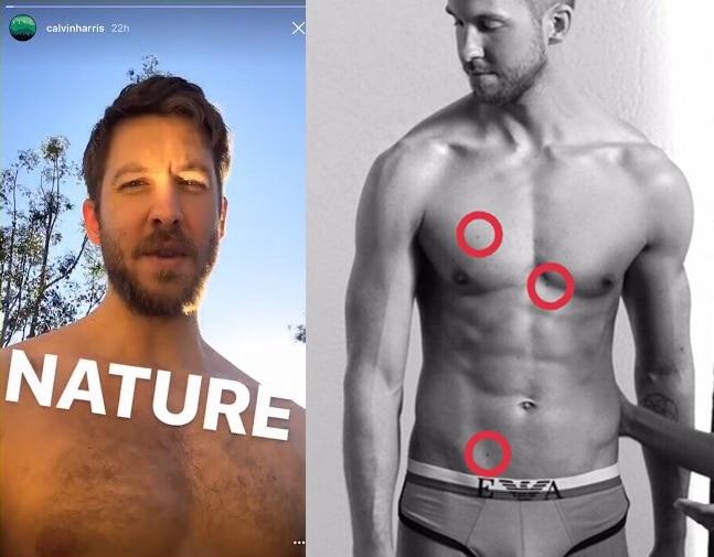 Calvin Harris nudes