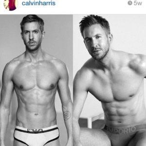 Calvin Harris underwear