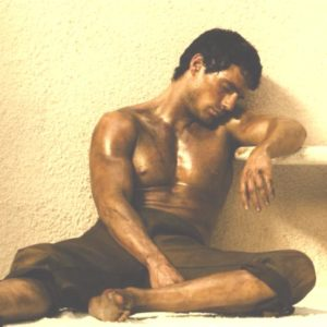 Henry Cavill tan body