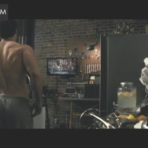 Henry Cavill back muscles