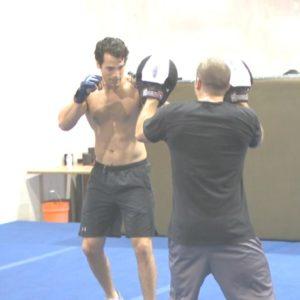 Henry Cavill boxing
