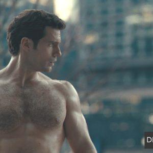Henry Cavill handsome no shirt on
