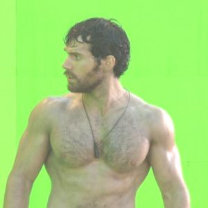 Henry Cavill ripped muscles