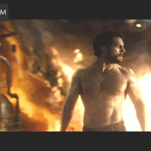 Henry Cavill big chest muscles