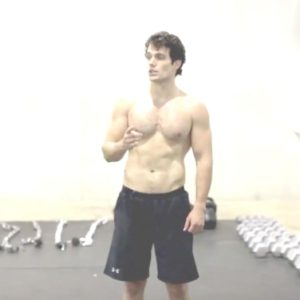 Henry Cavill uncensored nude pic