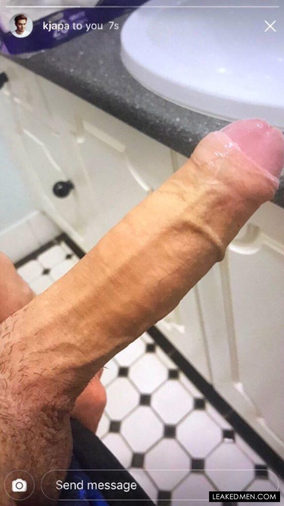 KJ Apa cock