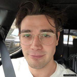 KJ Apa glasses