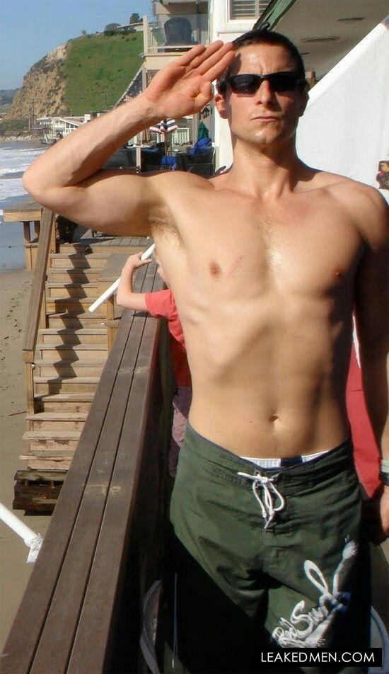 Bear Grylls big muscles