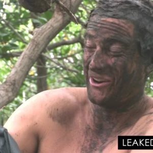 Bear Grylls muddy mess