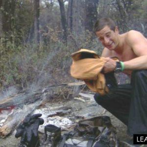 Bear Grylls camping