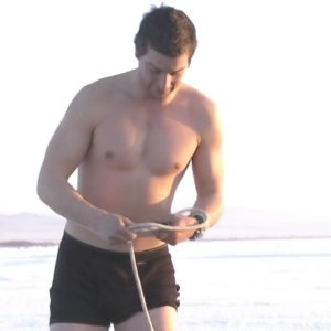 Bear Grylls tying knots
