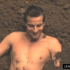 Bear Grylls laughing