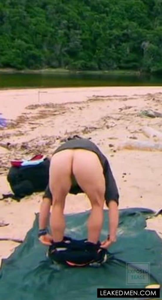 Bear Grylls butthole