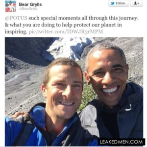 Bear Grylls & Barack Obama