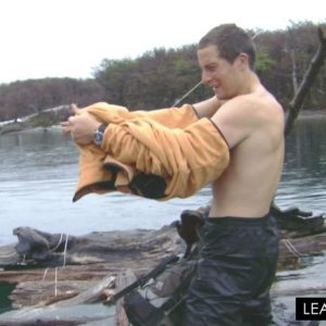 Bear Grylls showing dick