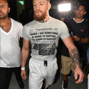Conor McGregor bulge