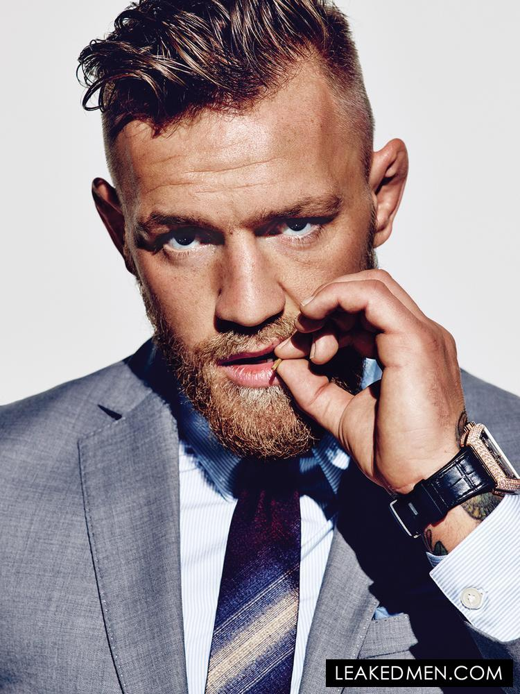 Conor McGregor toothpick modeling