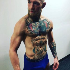 Conor McGregor leaked nude