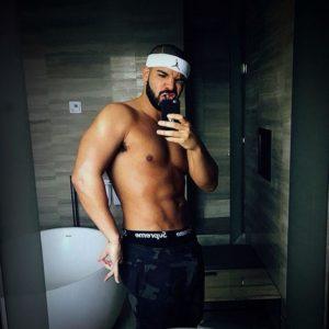 Drake hard cock