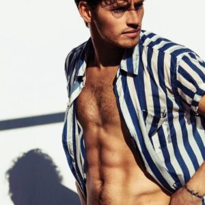 Gregg Sulkin chest