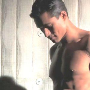 Mario Lopez big muscles