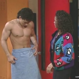Mario Lopez chest