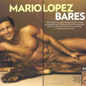 Mario Lopez penis